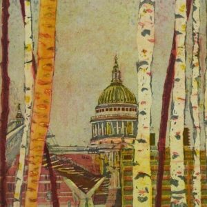 A Glimpse of St Paul's - Karen Keogh