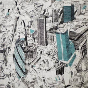 Aerial View of City Business - Clare Halifax