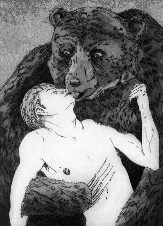 Bear Hug - Martin Ridgwell