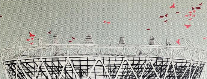 Flocking to Olympic Stadium - Clare Halifax