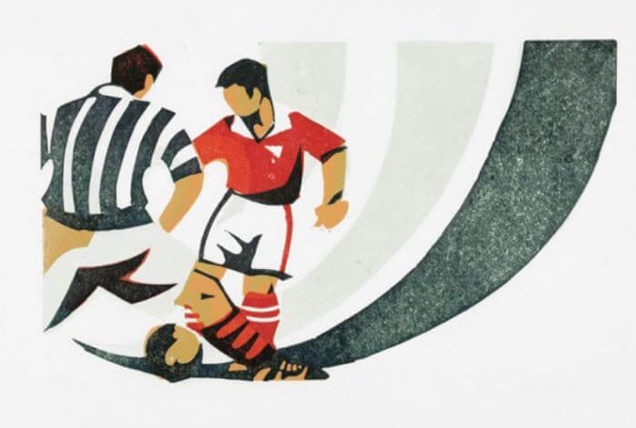 Footballers - Paul Cleden