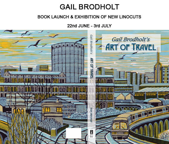 Gail Brodholt Book Launch and Exhibition of Linocuts