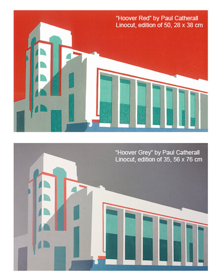 Paul Catherall: Exhibition of Linocuts