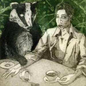 Taking Tea with Ol' Badger - Martin Ridgwell
