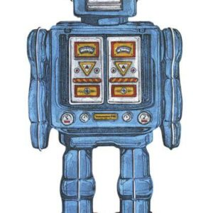 Blue Robot - Barry Goodman