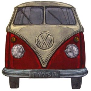 Red VW - Barry Goodman