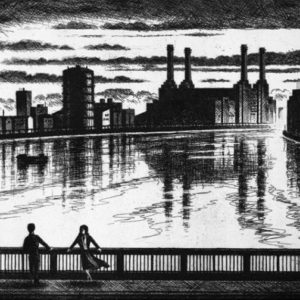 River Thames Two Dreamers - John Duffin