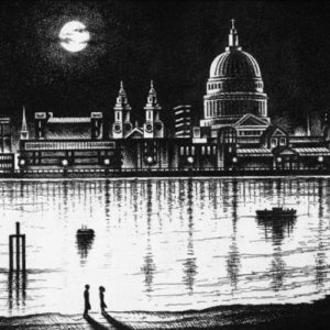River Thames Moonlight Walk - John Duffin