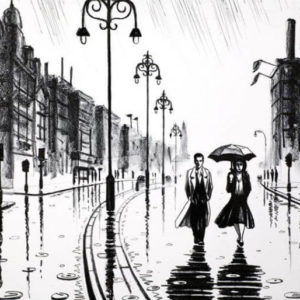 London In The Rain - John Duffin