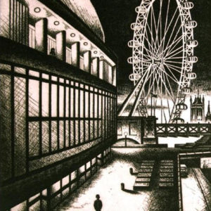 Lost Night (Royal Festival Hall and The London Eye) - John Duffin