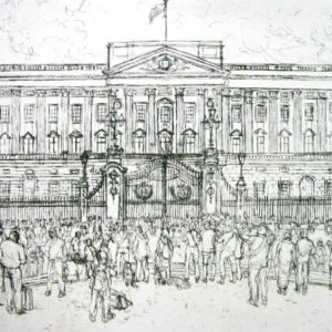 Buckingham Palace - Mary Cossey