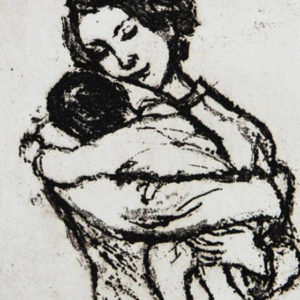 Mother and Child IV - Mary Cossey