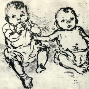 Two Boys - Mary Cossey
