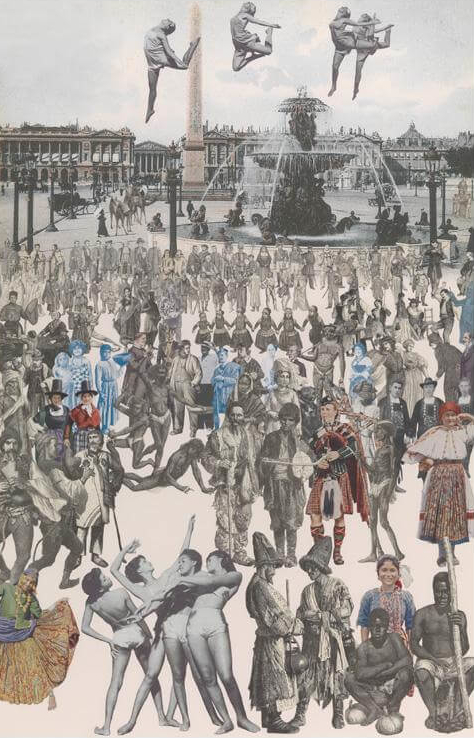 Dancing Paris - Peter Blake