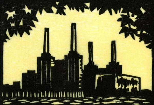 Battersea from the North Bank - Susan Short