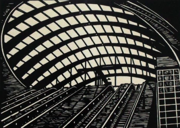 Canary Wharf Station - Susan Short