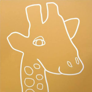 Giraffe Head - Jane Bristowe