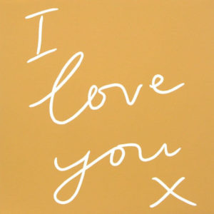 I love you - Jane Bristowe