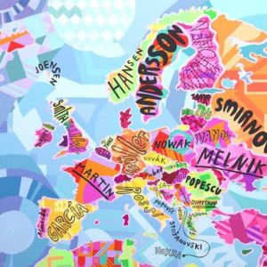 Popular Surnames In Europe - Jess Wilson