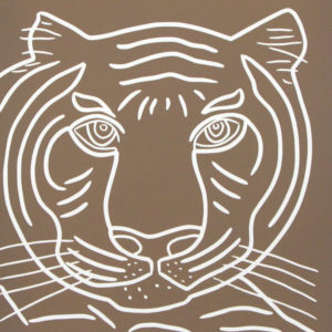 Tiger close up - Jane Bristowe