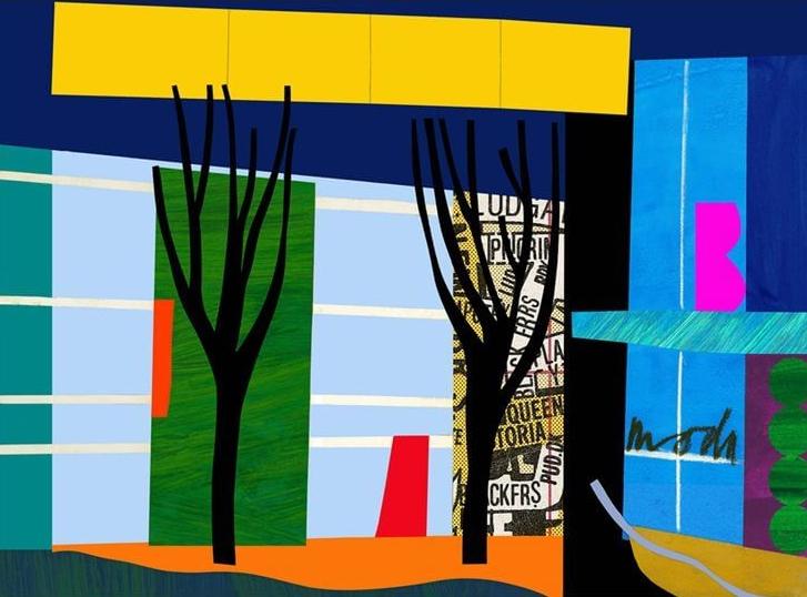 Designer Trees - Bruce McLean