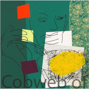 """Cobweb of Potato"" by Bruce McLean"
