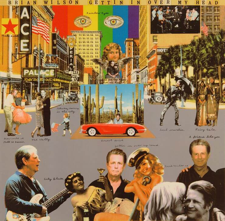 Gettin In Over My Head - Peter Blake