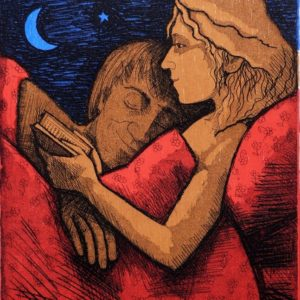 """""""Reading in Bed"""" by Frans Wesselman"""