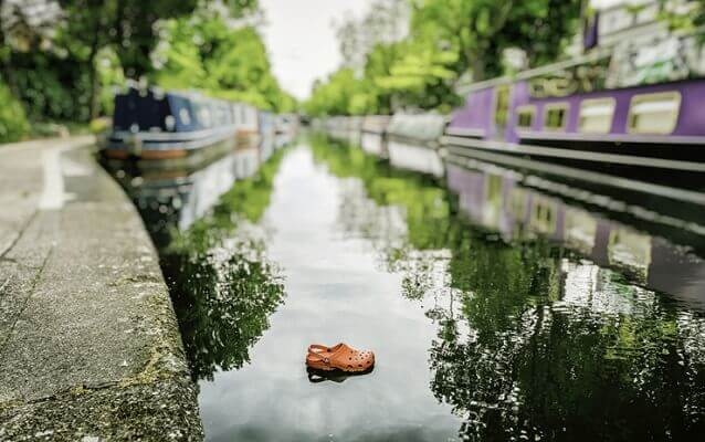 Croc in Little Venice - Photography by Alex Arnaoudov