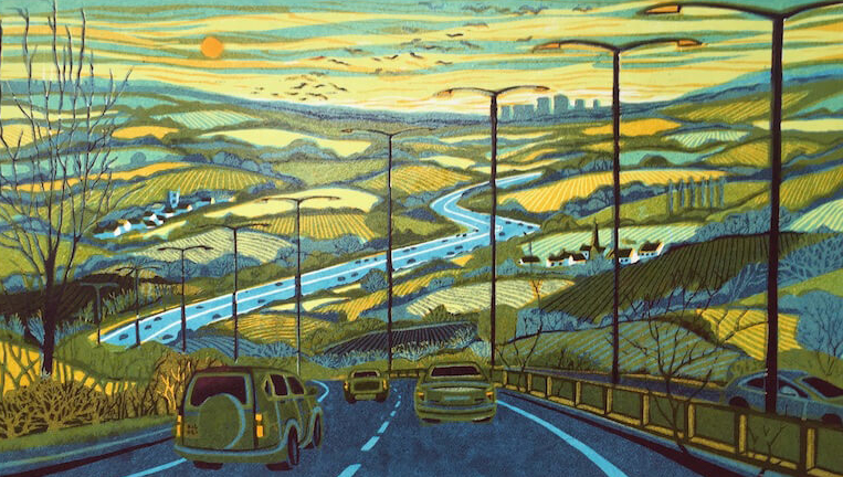 From the Motorway - Gail Brodholt