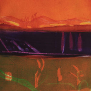 Spanish Sunset - Louise Davies