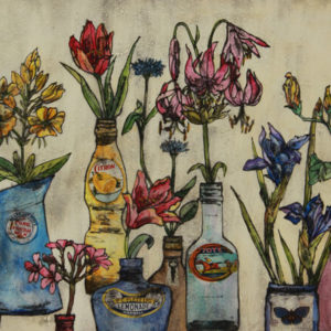 Summer flowers - Vicky Oldfield