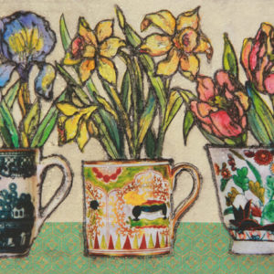 Three cups - Vicky Oldfield