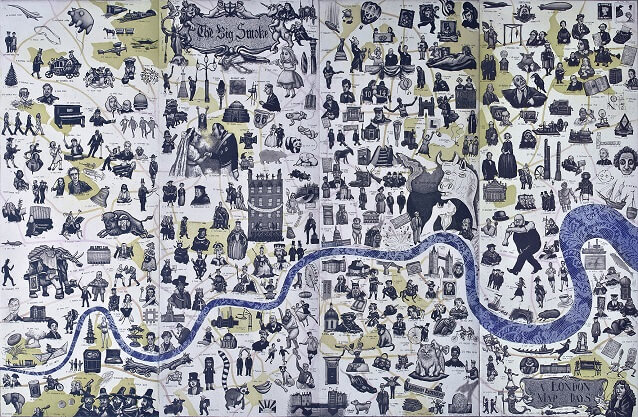 A London Map of Days Mychael Barratt