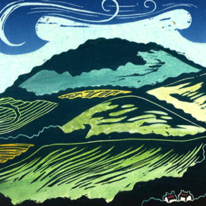 Alfriston Hill - Helen Brown