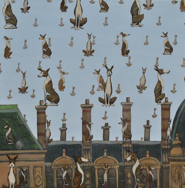 Magritte's Dogs | Mychael Barratt
