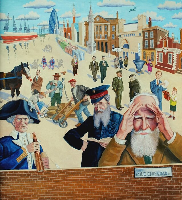 Mile End Road Mural