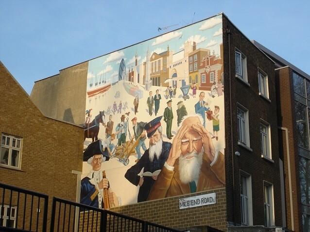 Mile End Mural | Mychael Barratt
