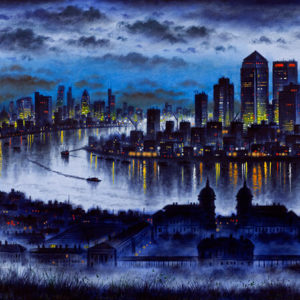 London from Greenwich - John Duffin