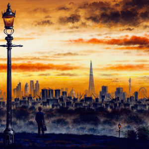 London from Primrose Hill - John Duffin