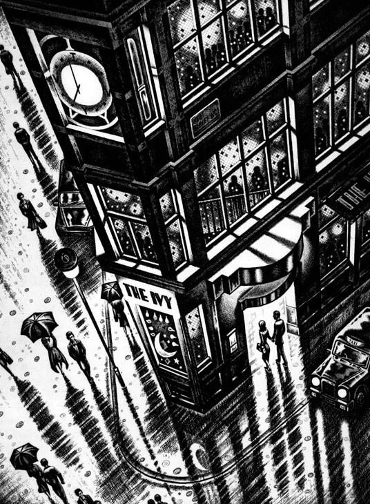 Rainy Night - The Ivy - John Duffin