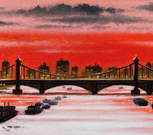 River Thames - Chelsea Bridge - John Duffin