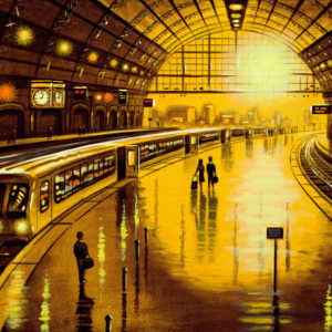 Station Reflections - Moving On - John Duffin