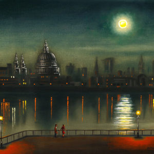 Thames Night (St Paul's Cathedral) - John Duffin