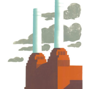 Battersea Clouds - Paul Catherall