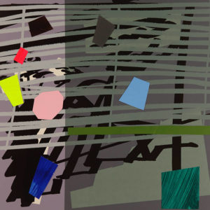Green Grey Violet Shadow - Bruce McLean