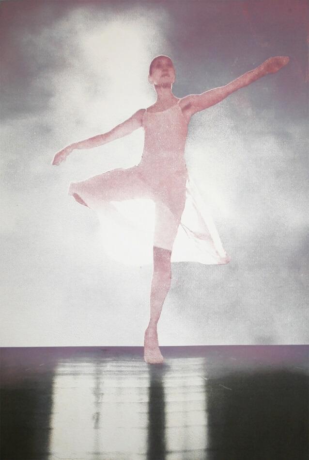 Margaret Ashman, Pavane  3 Photo Etching