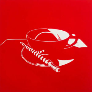 Tea &Tools II Red Pencil - Molly Okell