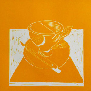 Tea & Tools V Yellow Scalpel - Molly Okell