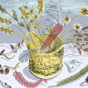 Yellow Cup - Angie Lewin